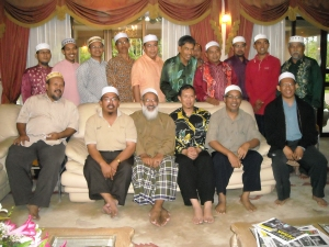 sahabat 18P bersama MB Perak